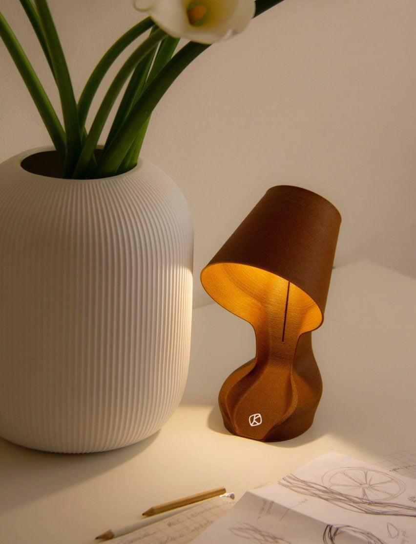 ohmie orange lamp
