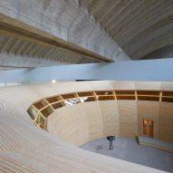 Olson Kundig completes Noah's ark-informed children's museum in Berlin