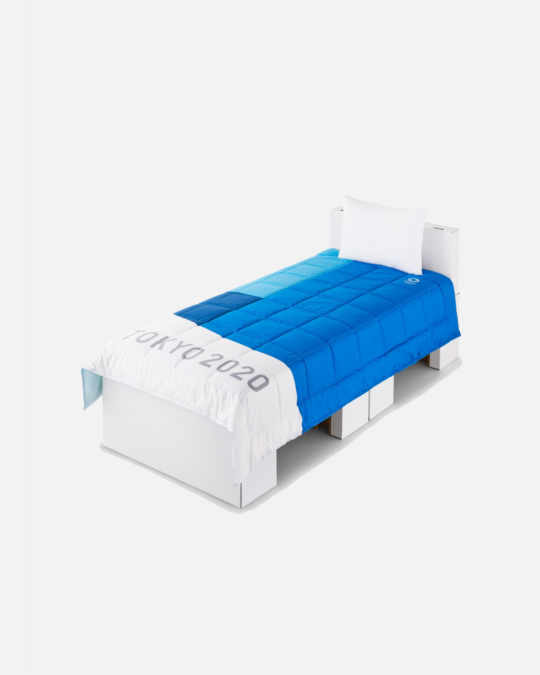 An Airweave bed and mattress