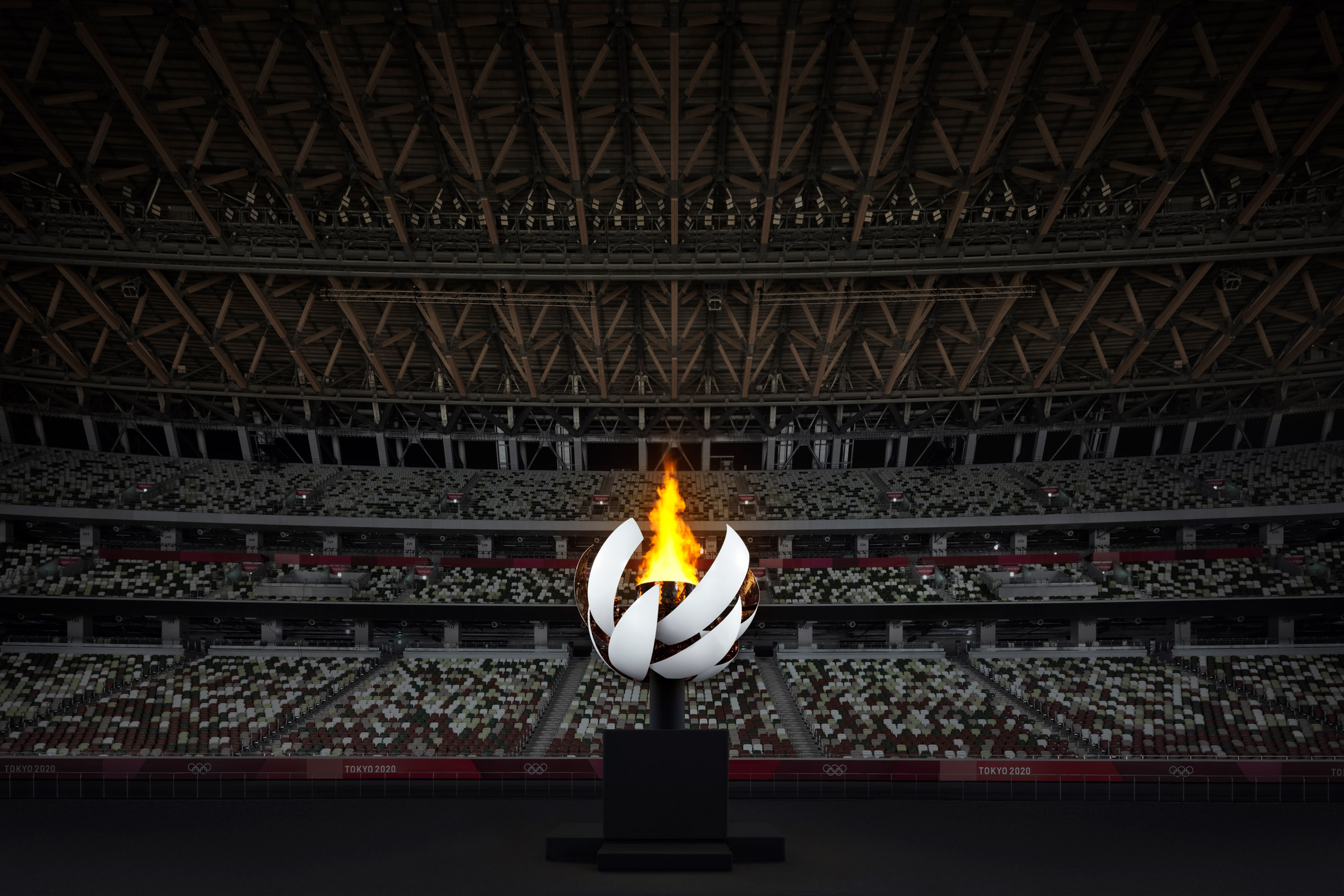 Nendo's Olympic cauldron