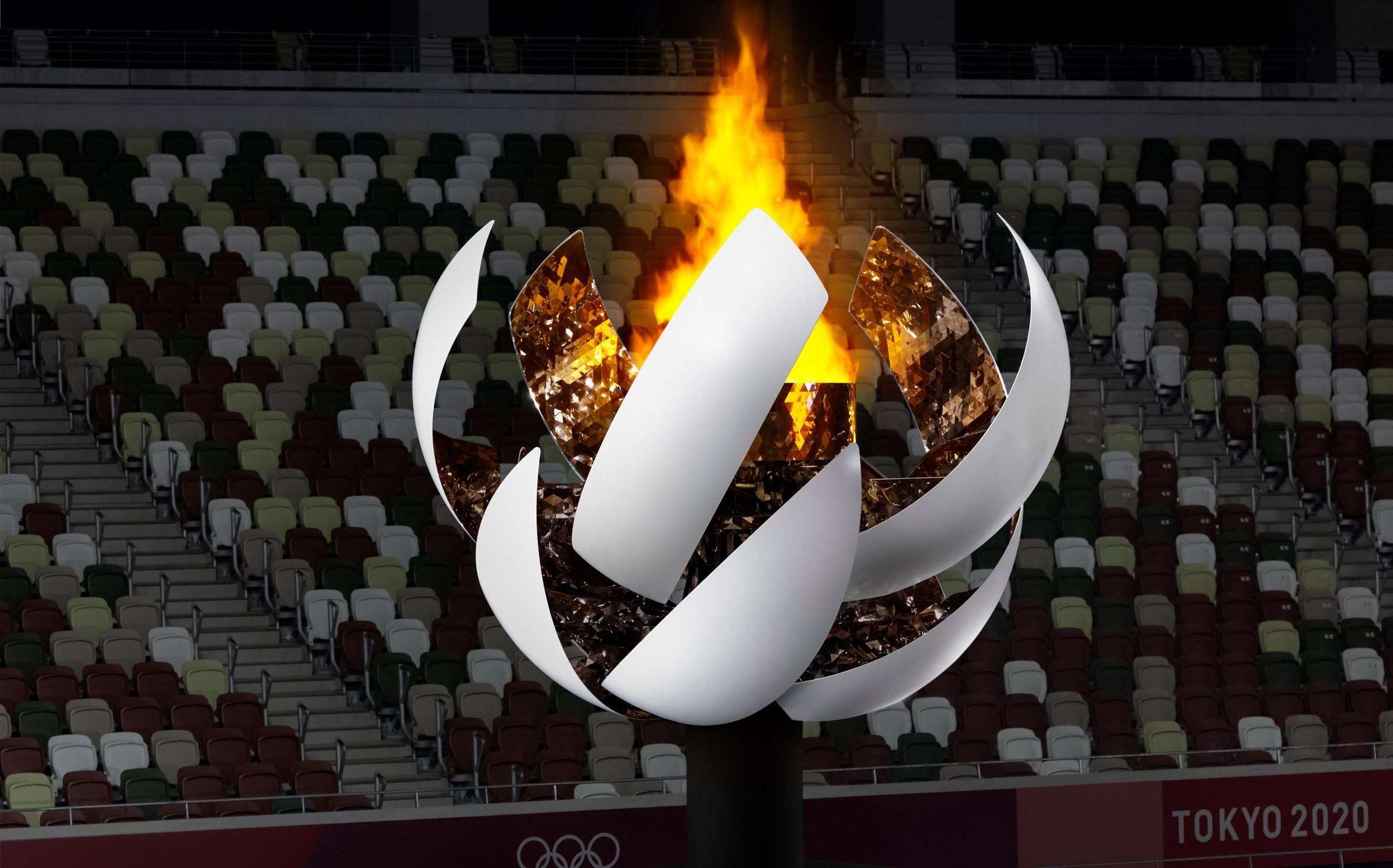 Tokyo 2020 Olympic cauldron