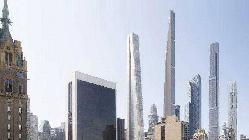OMA supertall for New York