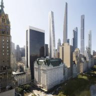 Visual shows supertall skyscraper designed by OMA for Billionaire's Row in New York