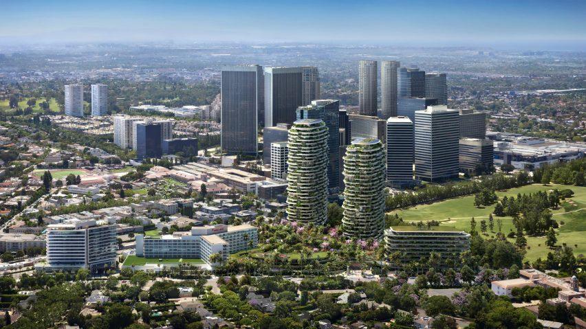 Render of One Beverly Hills in LA