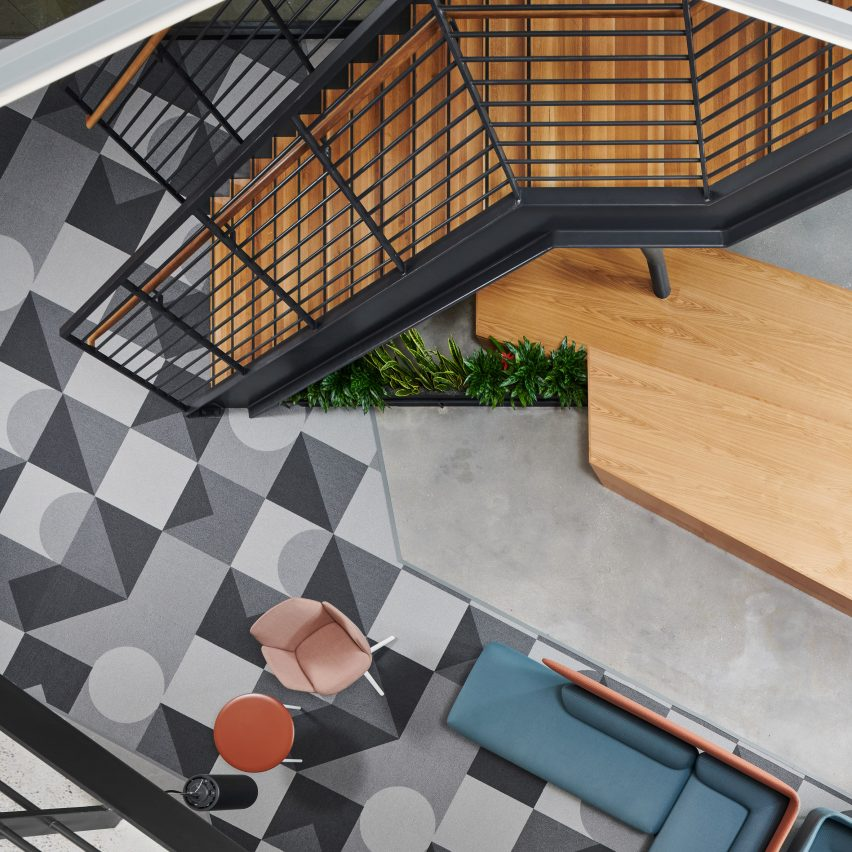 """Perkins&Will designs interiors with """"sense of connectivity"""" for healthcare office in Texas"""