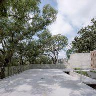 The terraces has an open design