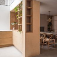 Wooden joinery inside Rushmore House by Yellow Cloud Studio