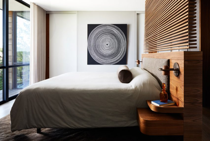 Kamar tidur Sag Harbour 2 oleh KOS+A