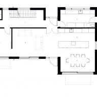 Ground floor plan of Samarkand by Napier Clarke Architects