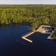 A lakeside wellness centre