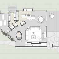 Level one site plan
