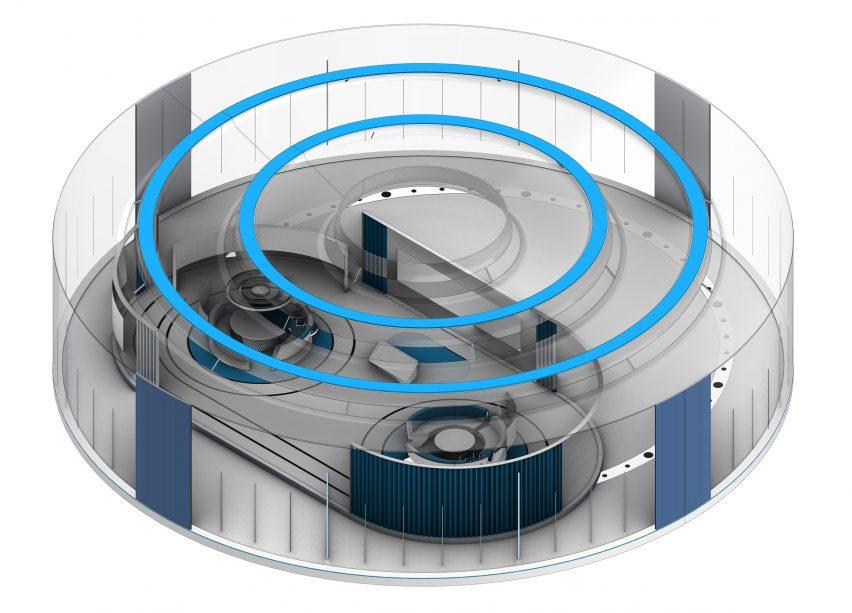 The round virtual pavilion