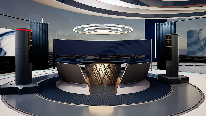 The News Pavilion studio space