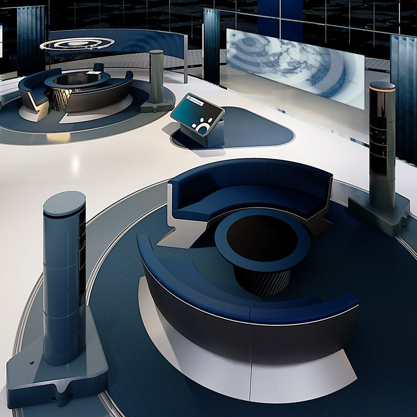 """The News Pavilion by Softroom allows newsreaders to """"extend reality"""""""