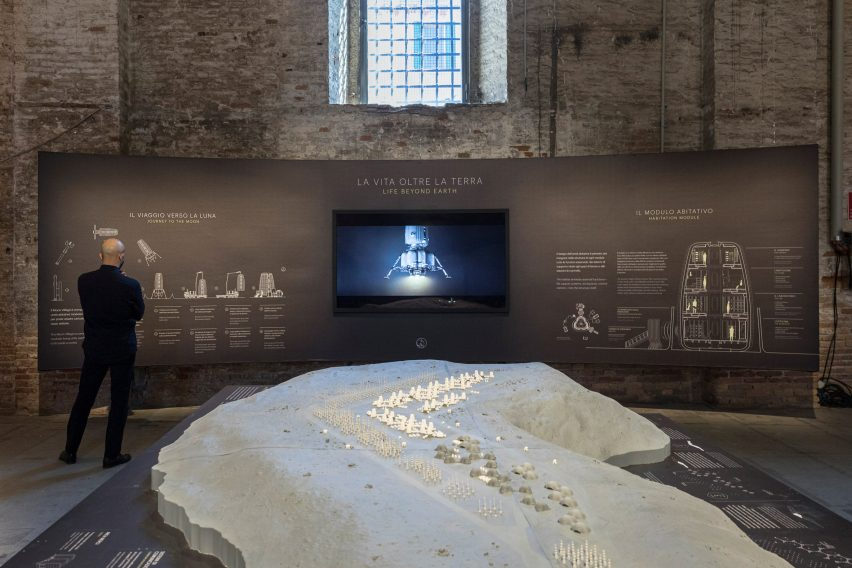 Moon Village is on show at the Venice Architecture Biennale