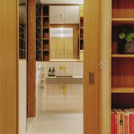 Bathroom in St John Street warehouse apartment by Emil Eve Architects