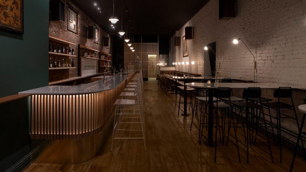 Ravi Handa designs his own wine bar called Stem in Montreal