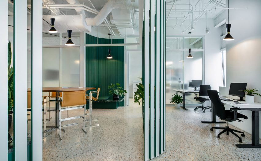 Swiss Consulate interiors by HHF and Kwong Von Glinow