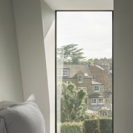 Bedroom window, T-House by Will Gamble Architects