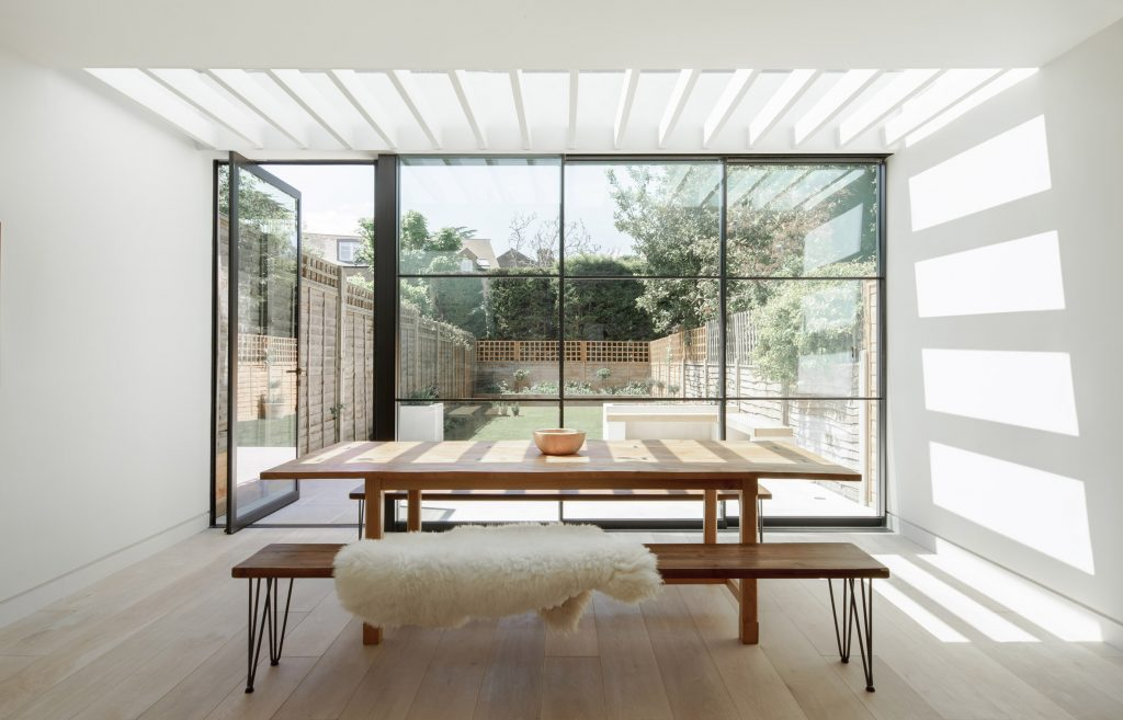 Will Gamble Architects puts a modern spin on Victorian details with T-House in London