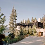 Entrance, The Rock house in Whistler by Gort Scott