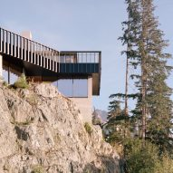 Rock view, The Rock house in Whistler by Gort Scott