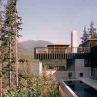 Daytime view, The Rock house in Whistler by Gort Scott