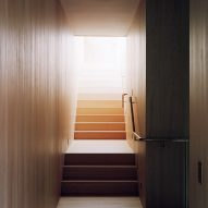 Staircase, The Rock house in Whistler by Gort Scott