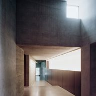Concrete interior, The Rock house in Whistler by Gort Scott