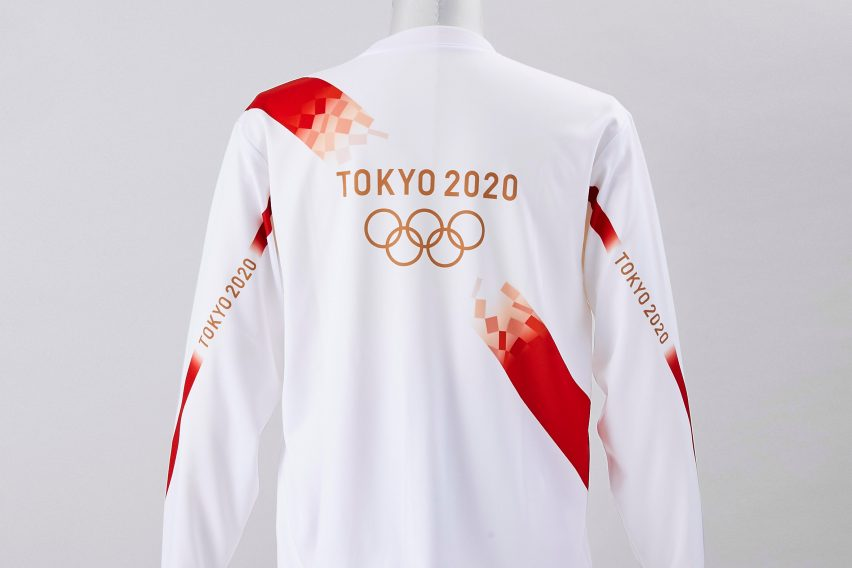 Torchbearer shorts and T-shirt Olympic uniform