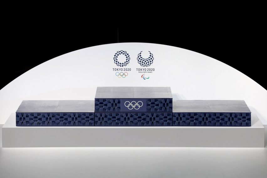 Tokyo 2020 Olympic podium