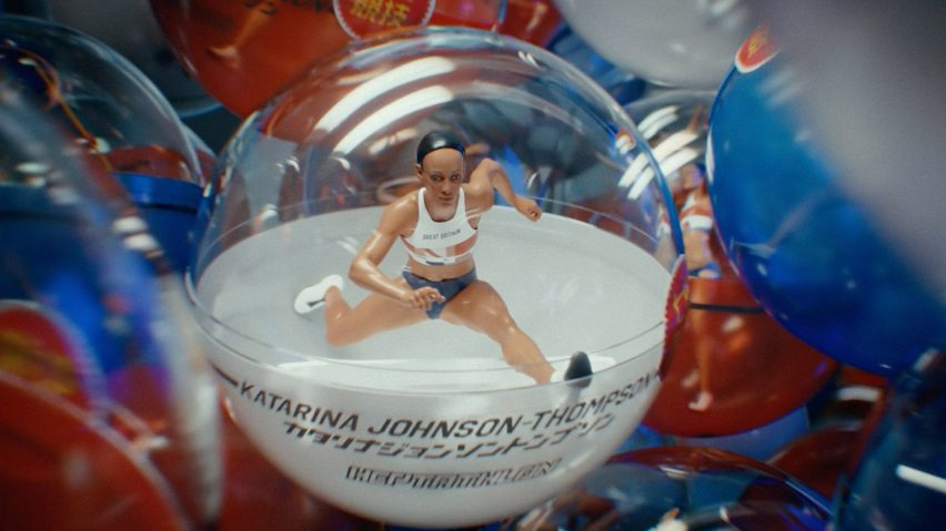 Heptathlete Katarina Johnson-Thompson features in gashapon toys in BBC trailer for Tokyo 2020 Olympics produced by Factory Fifteen and Nexus Studios