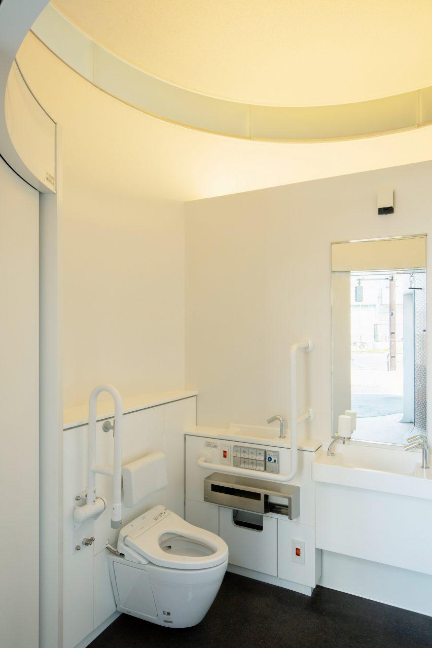 Toilet yang dapat diakses di Jepang