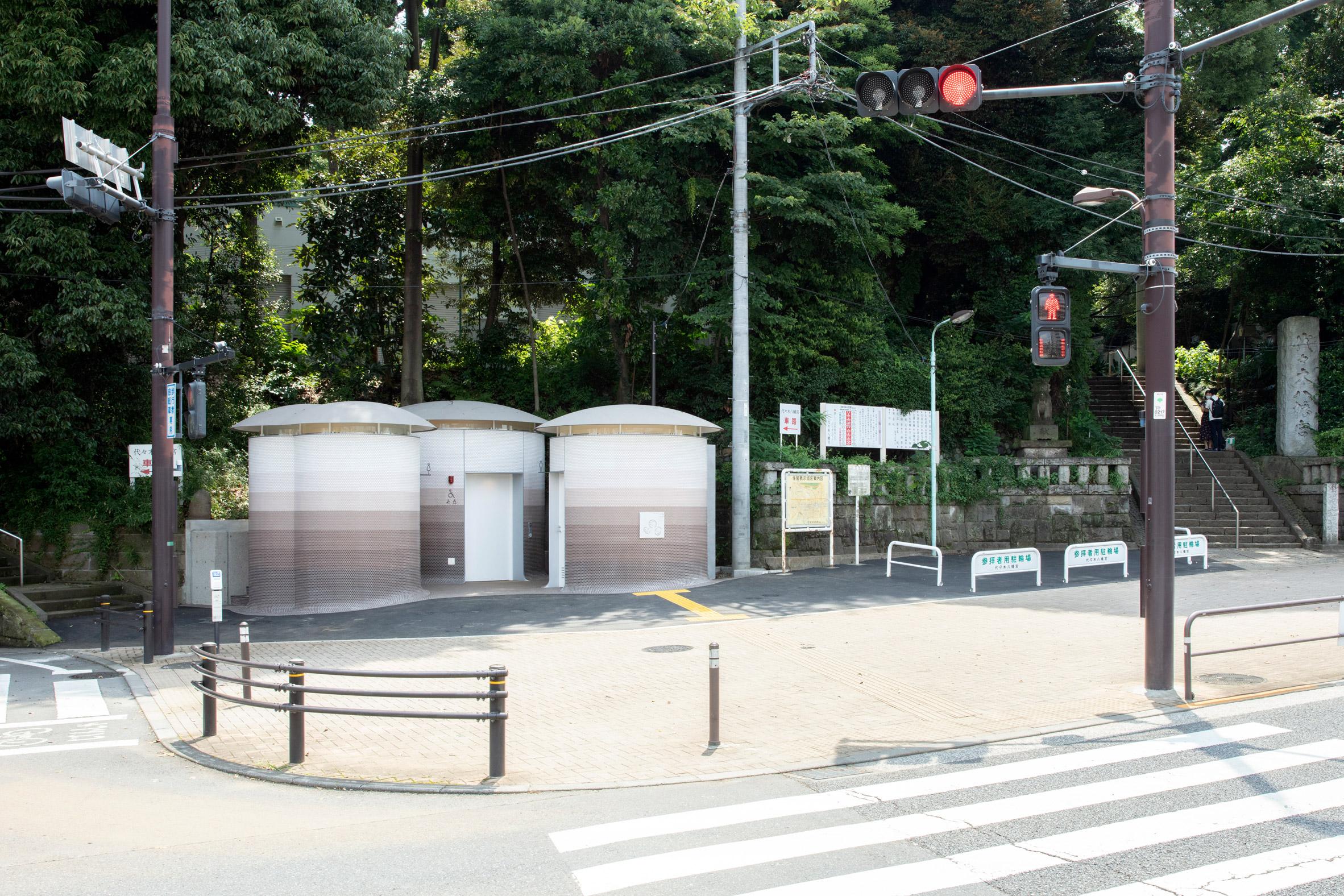 Toilet near Yoyogi Hachimangu shrine