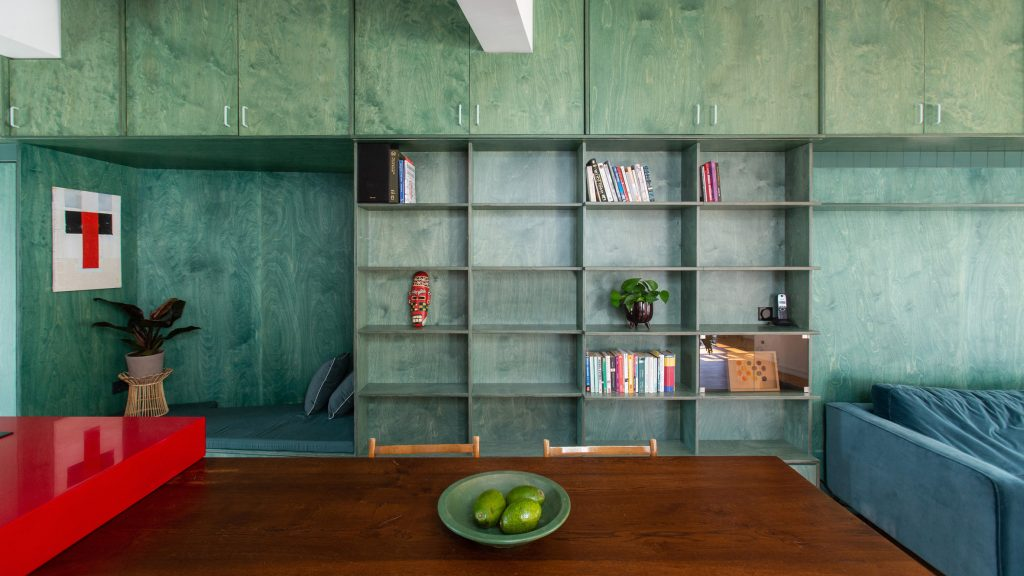 Point Supreme Architects uses colour to define different functions in Athens apartment