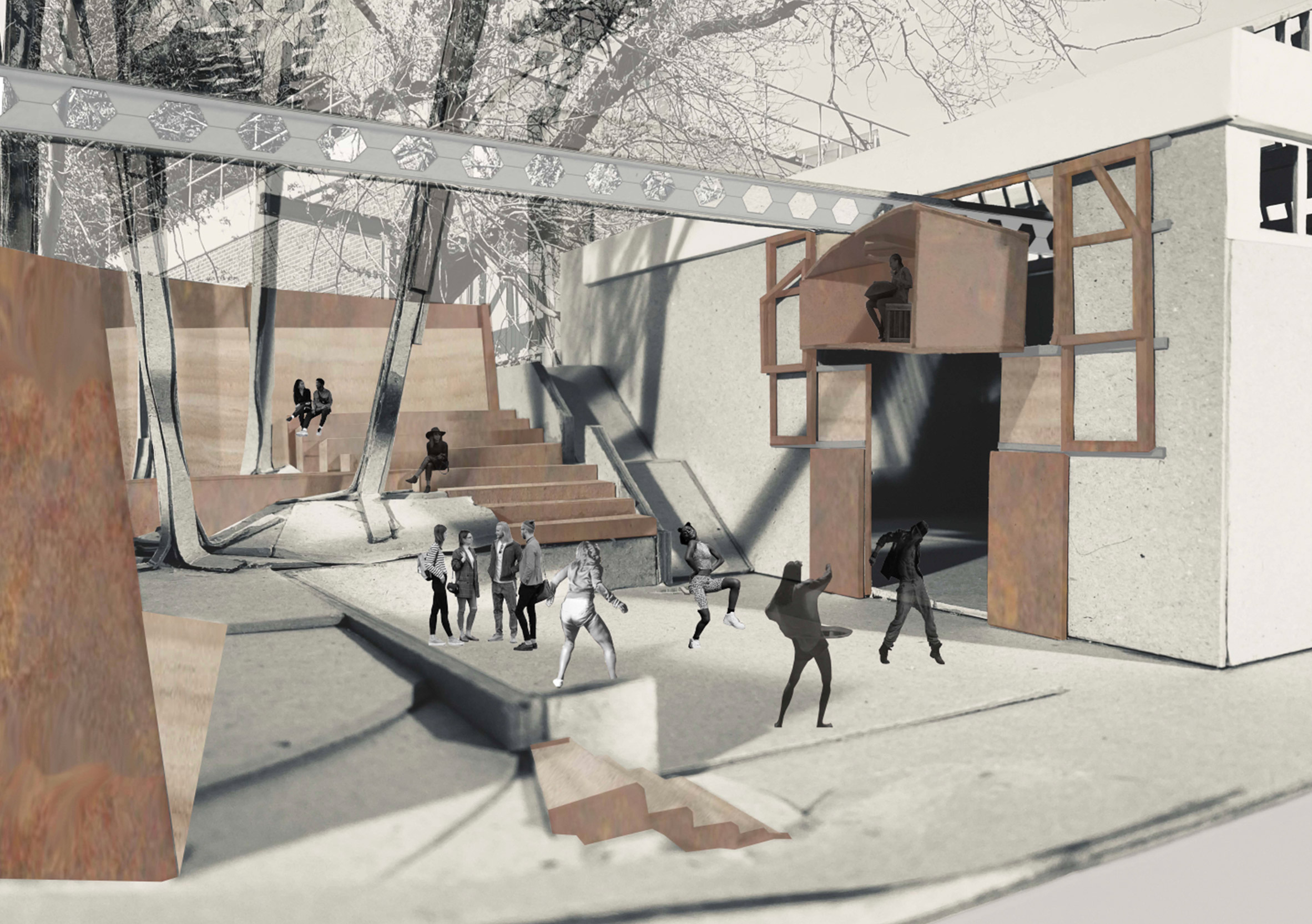 University of Brighton students designed the projects