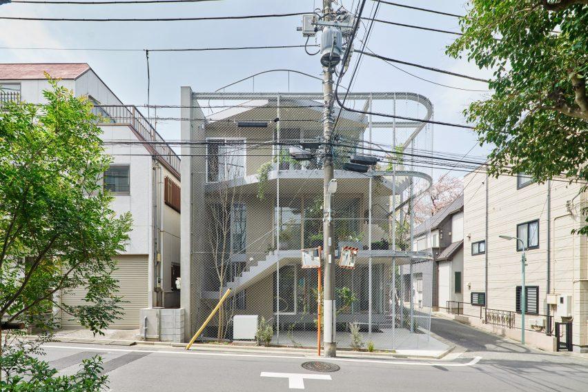 A corner house in Tokyo