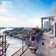 SAWA timber tower by Mei Architects