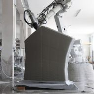 Striatus 3d printed bridge by zaha hadid architects