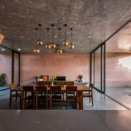 the pink house by 23o5studio