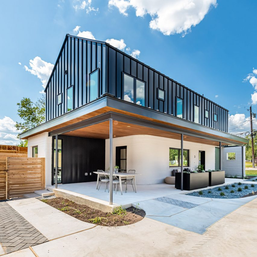 3D-printed home in Austin