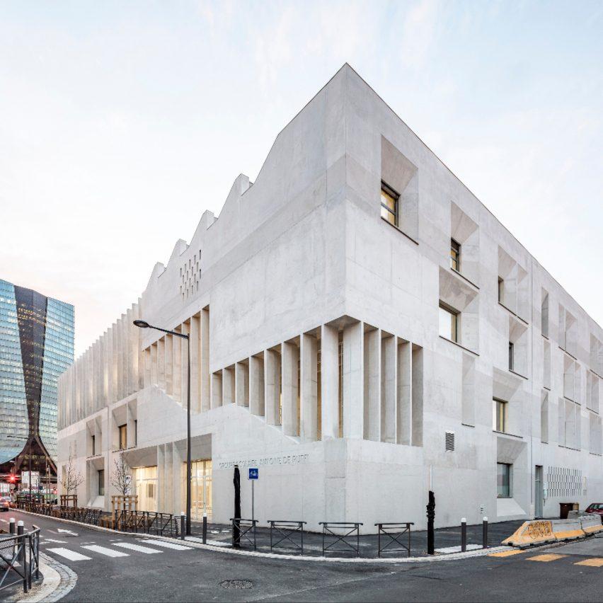 Antoine de Ruffi School Group by Tautem Architecture