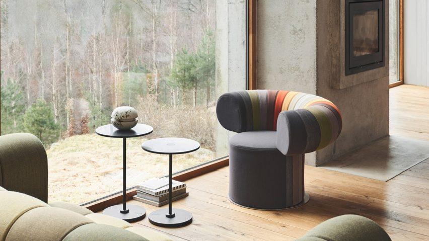 Big Talk lounge chair by Adam Goodrum for Blå Station
