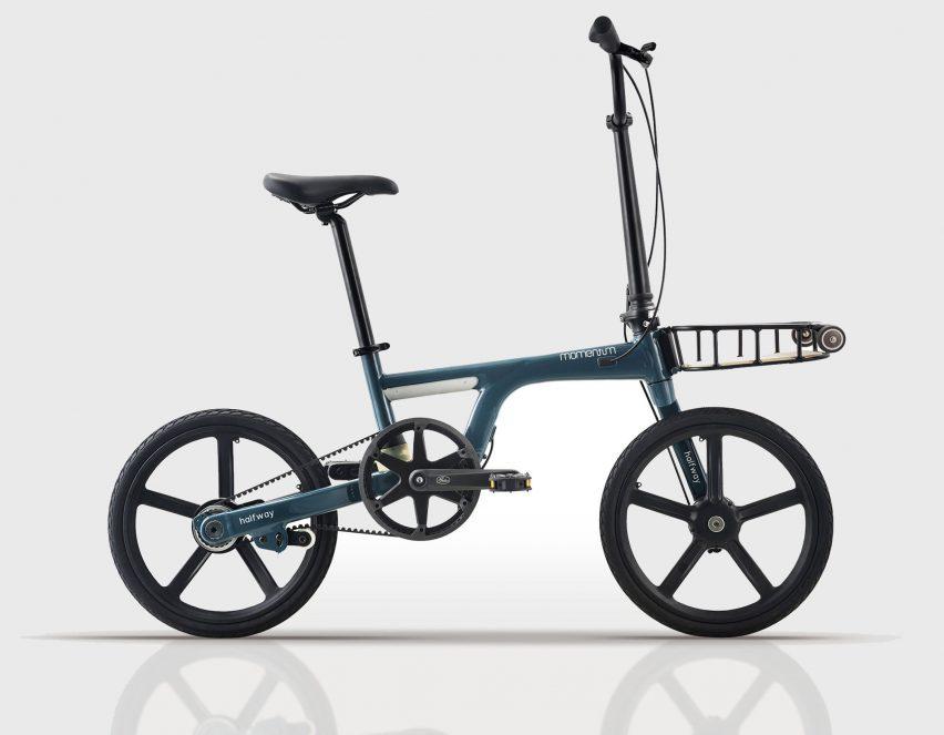A foldable bike