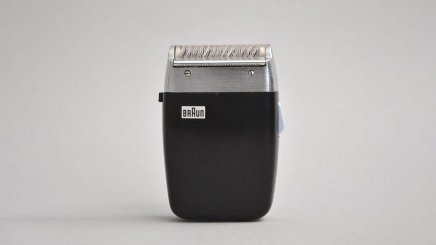 Braun shaver grey