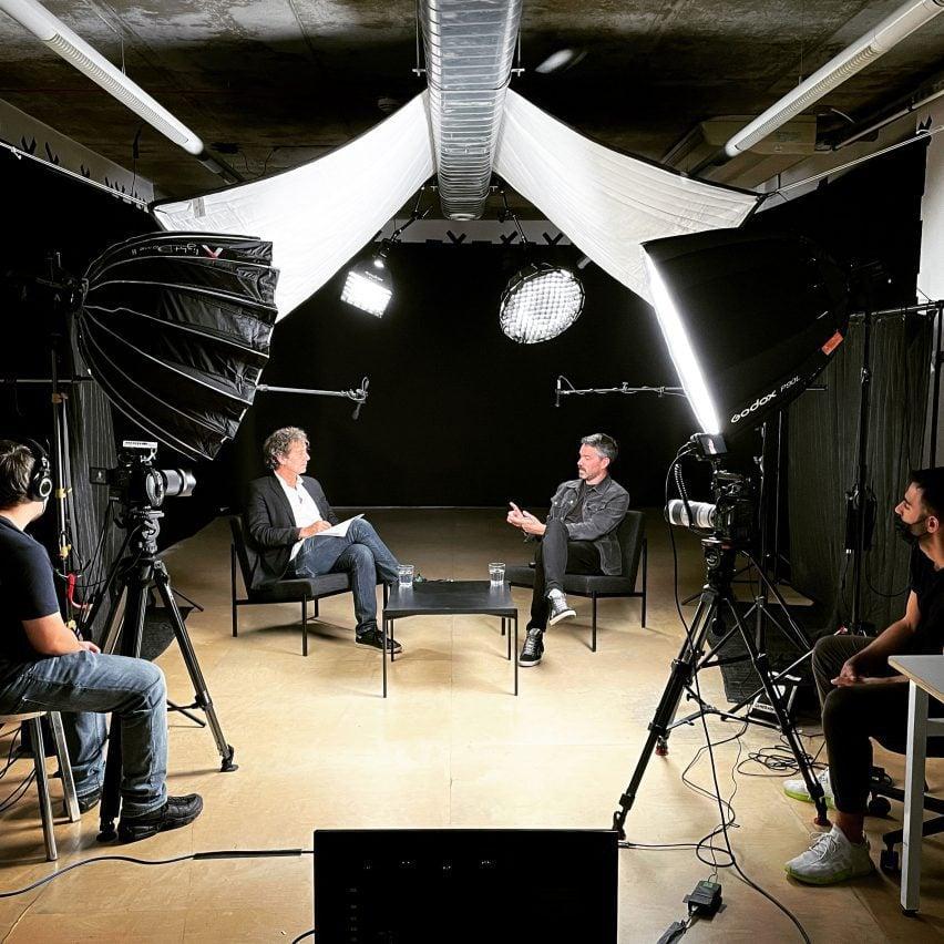Talk at Dezeen Studio Space