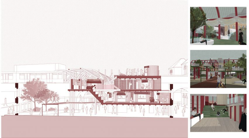 An architectural visualisation