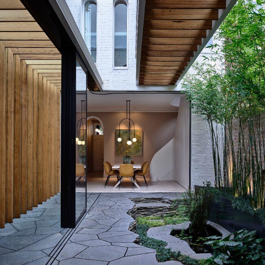 Fitzroy Bridge House in Fitzroy, Australia, by Matt Gibson Architecture + Design