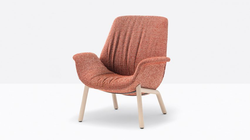 Ila chair by Patrick Jouin for Pedrali