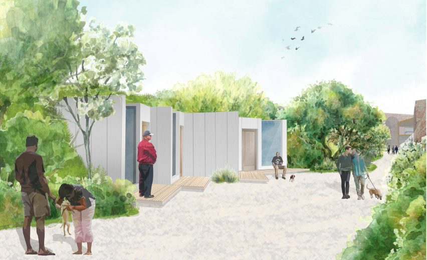A dog friendly shelter for homeless people